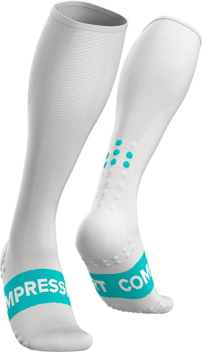 Jambiere Compressport Full Socks Race Oxygen