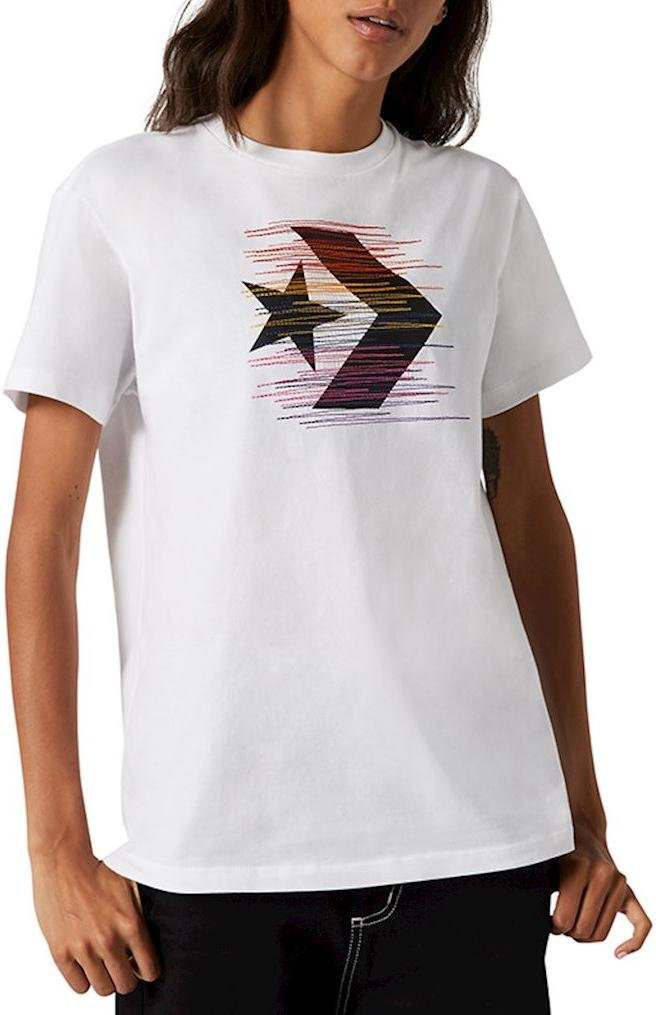Tricou Converse converse rainbow thred icon remix t-shirt