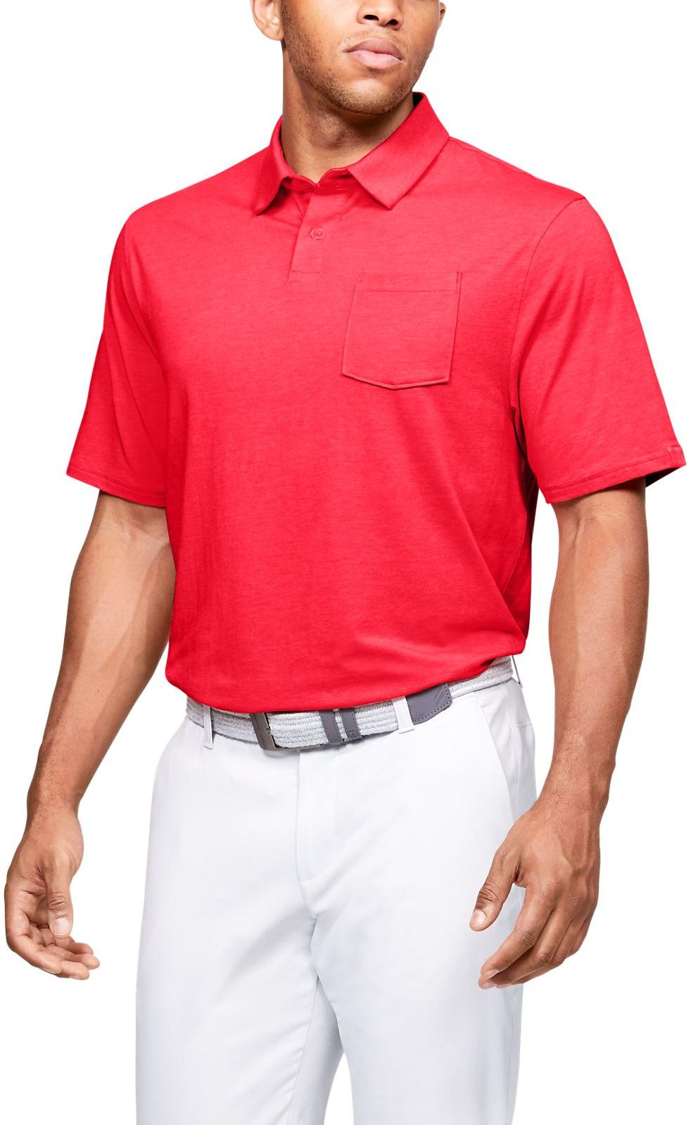 Tricou Under Armour Charged Cotton Scramble Polo
